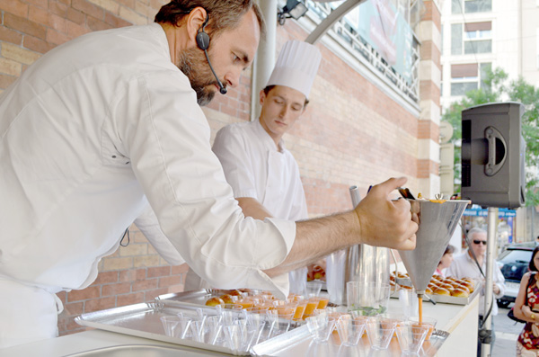relations presse gastronomie chefs