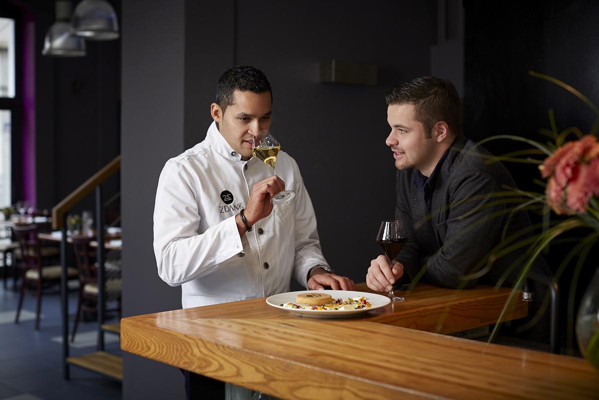 restaurant zdank relations presse