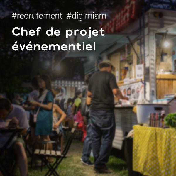 Offre d 39 emploi chef de projet v nementiel culinaire for Offre d emploi chef de cuisine
