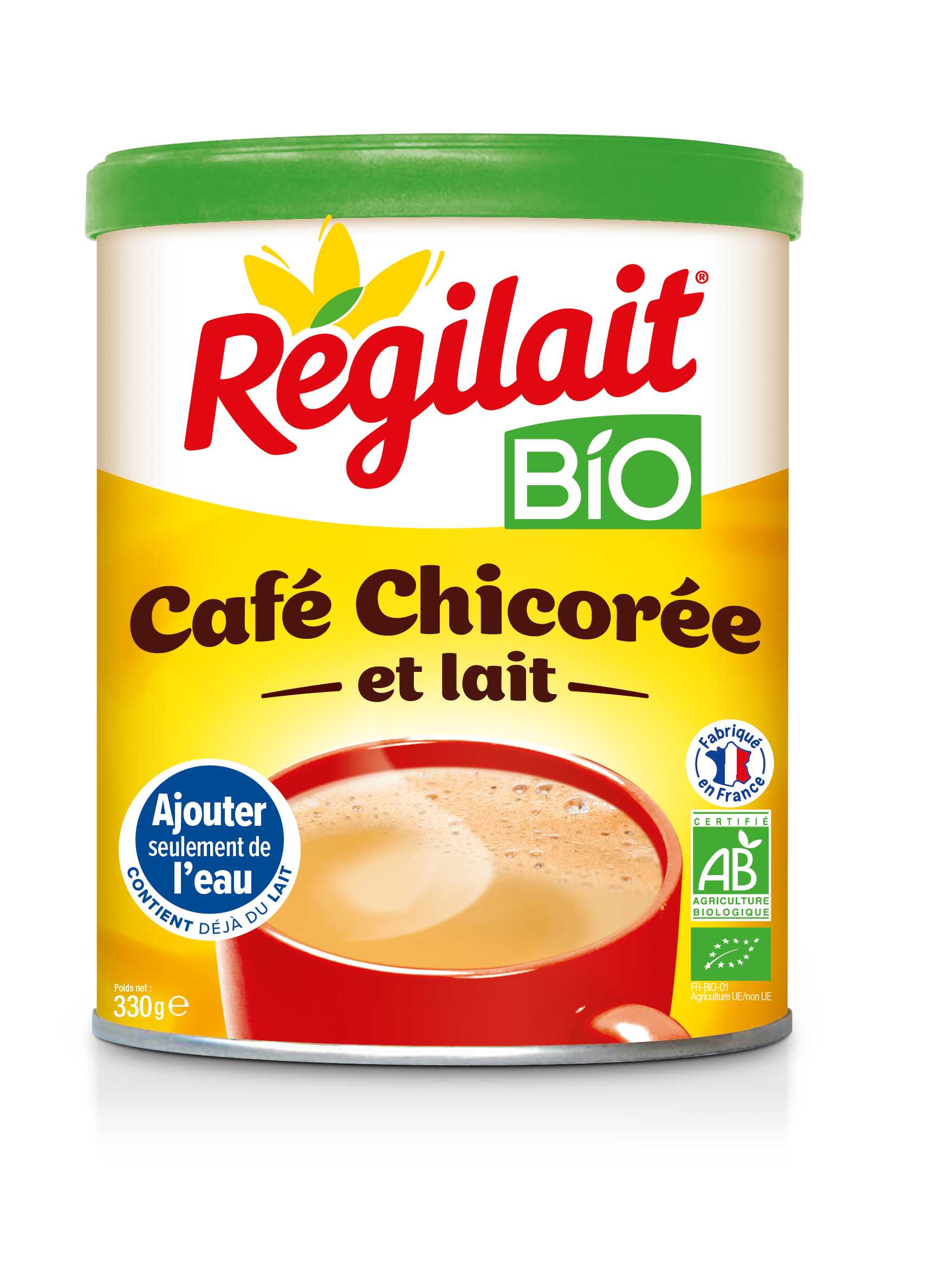 Milk Drinks Bio Cafe Chicoree Lait Digimiam